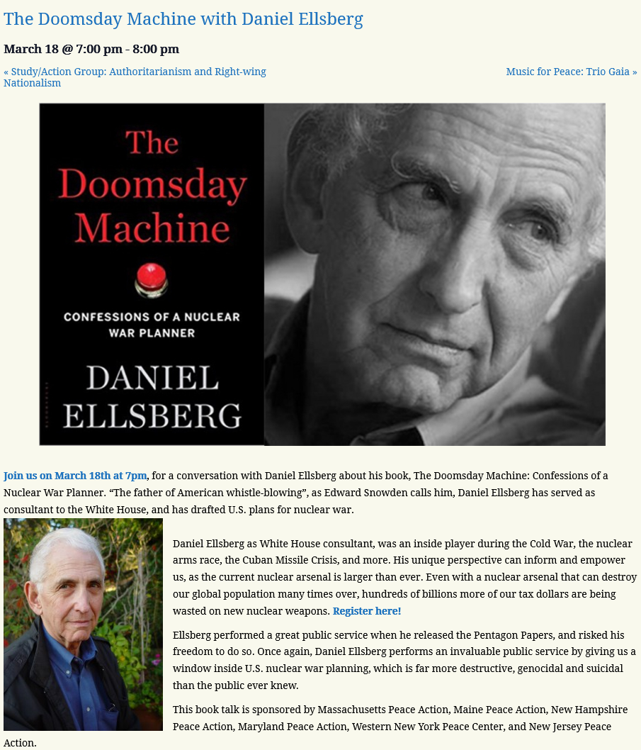 DoomsdayMachineScreenshot 2021 03 02 The Doomsday Machine with Daniel Ellsberg
