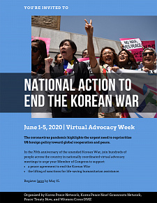 National Action to End the Korean War3